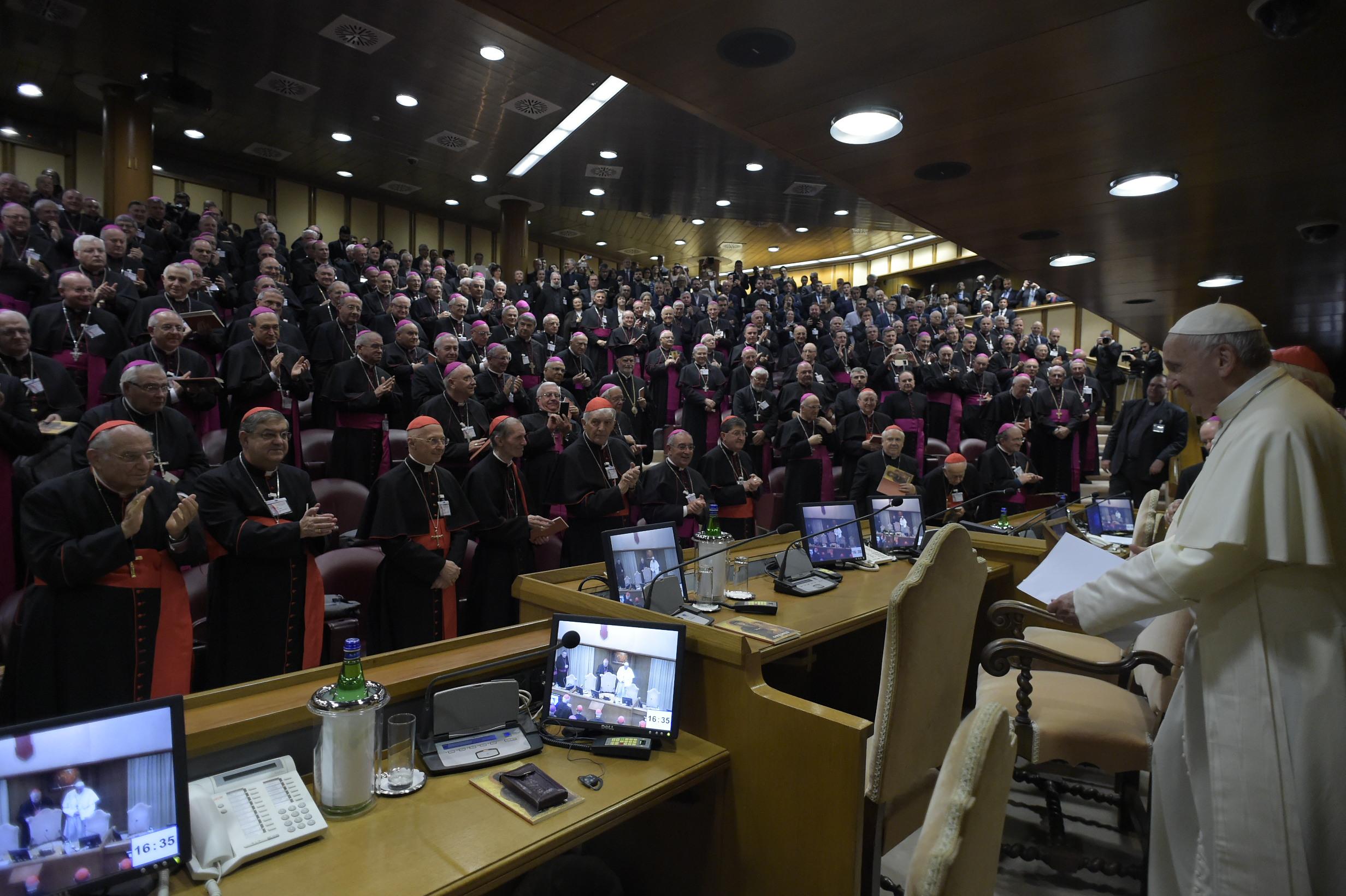 71ª Asamblea de la 71ª Asamblea de la Conferencia Episcopal Italiana © Vatican Media