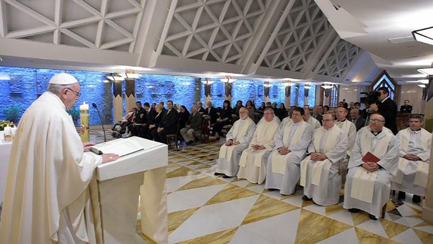 Capilla de Santa Marta © Vatican Media