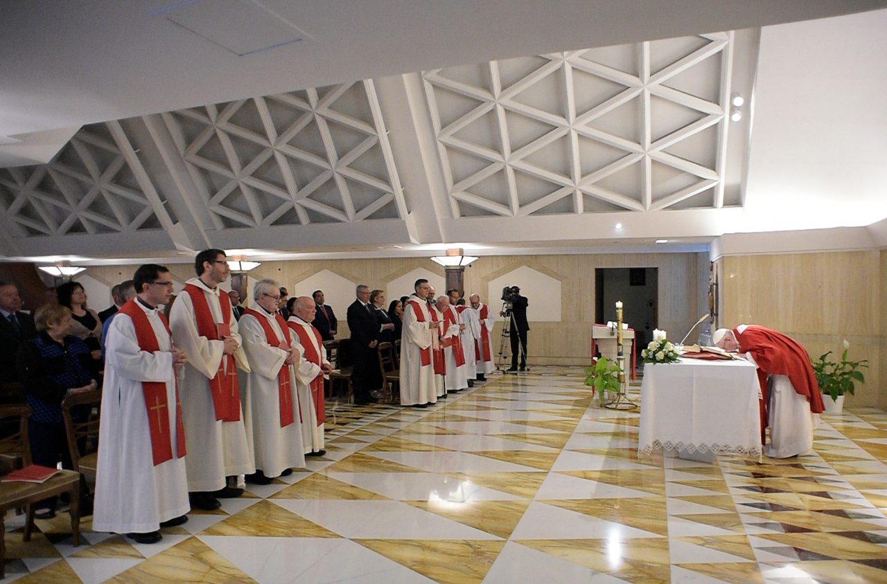 Misa en Santa Marta, 14 mayo 2018 © Vatican Media