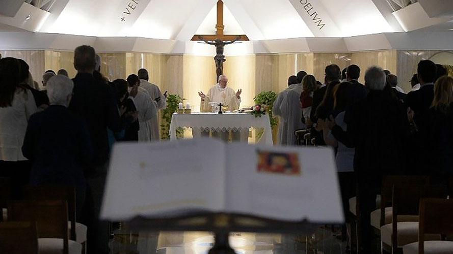 Misa en Santa Marta, 28 de mayo de 2018 © Vatican Media