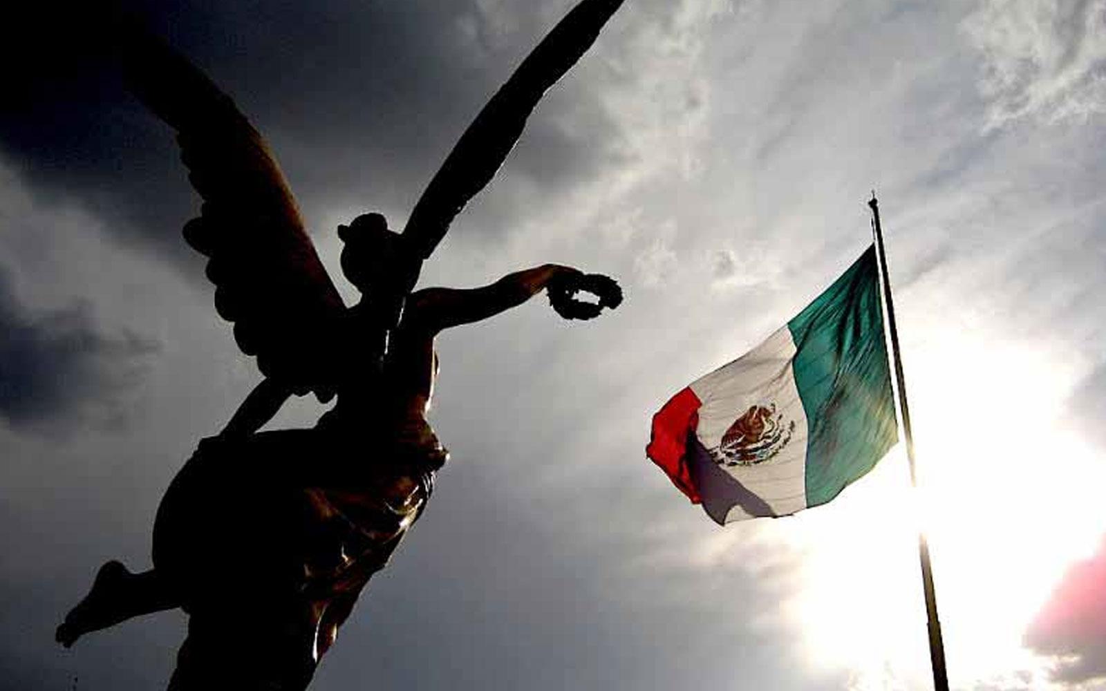 Bandera de México © México desconocido