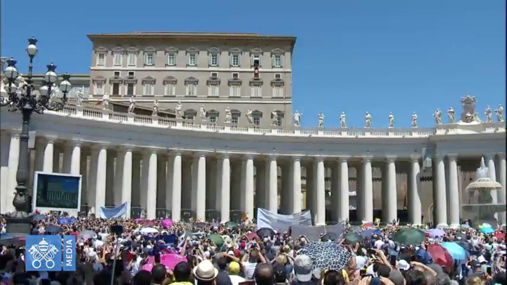 Ángelus 7 julio 2019 © Vatican Media