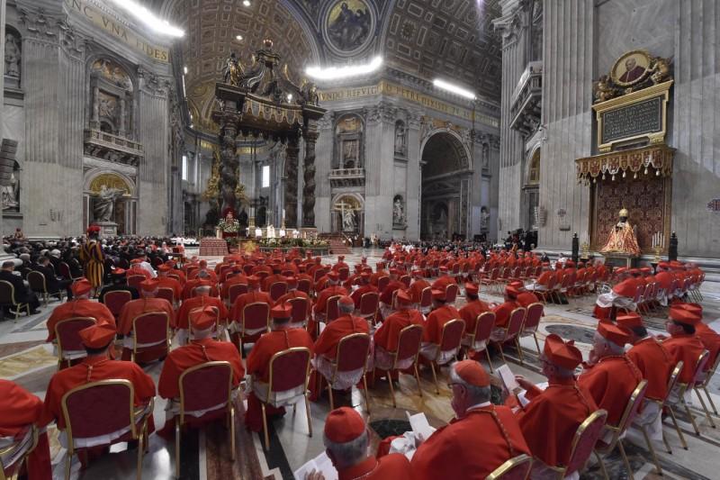 Consistorio Ordinario, 28 junio 2018 © Vatican Media