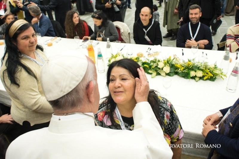 I Jornada Mundial de los Pobres, 18 de noviembre de 2017 © Vatican Media