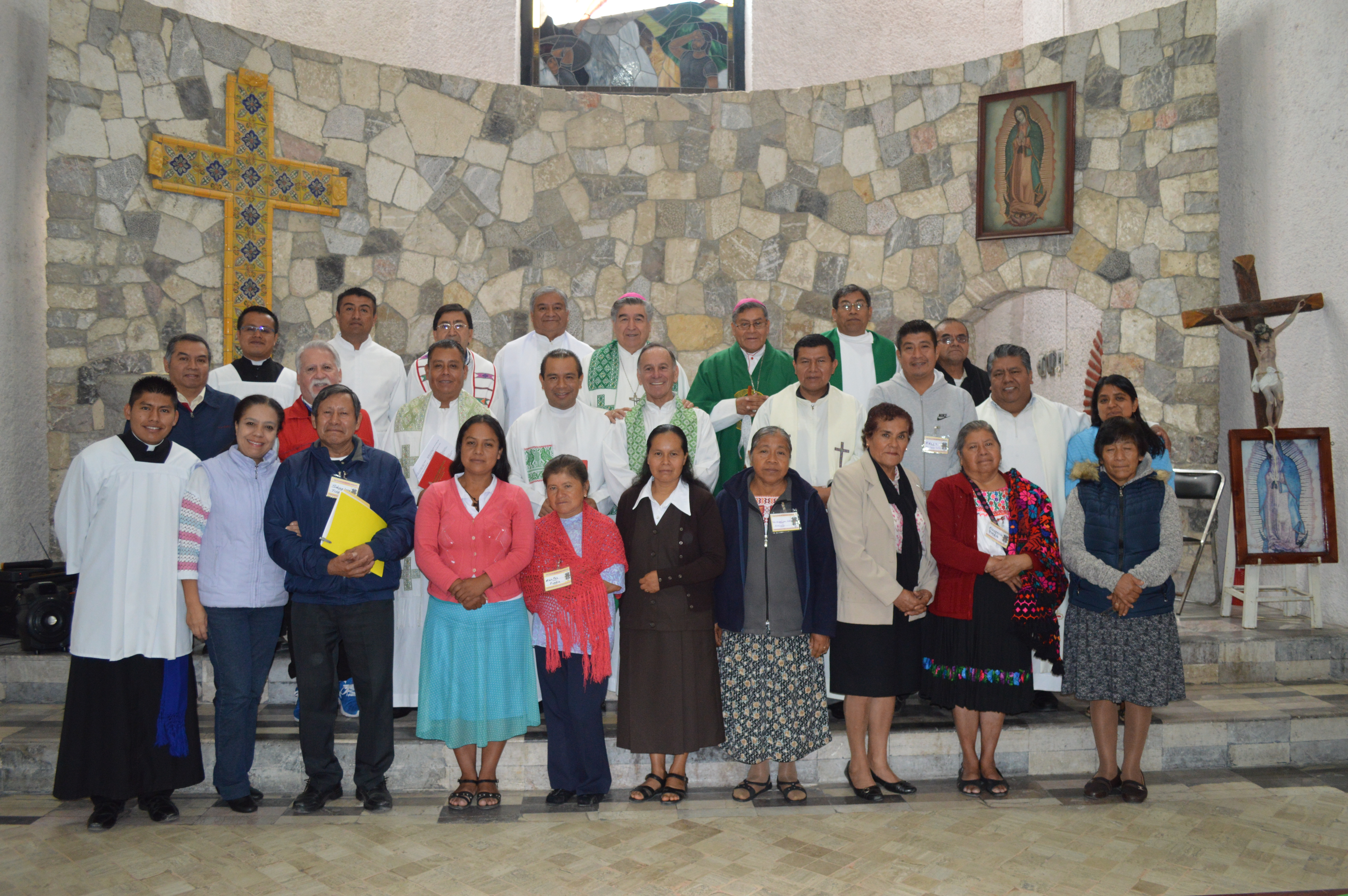 Traductores Coatlancingo © Mons. Felipe Arizmendi