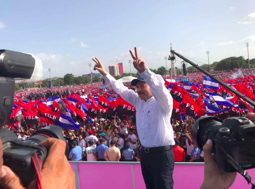 Daniel Ortega, 39º aniversario de la revolución sandinista © Twitter @NicaraguaJC2