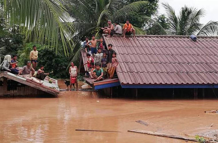 Inundaciones en Laos © Asian News
