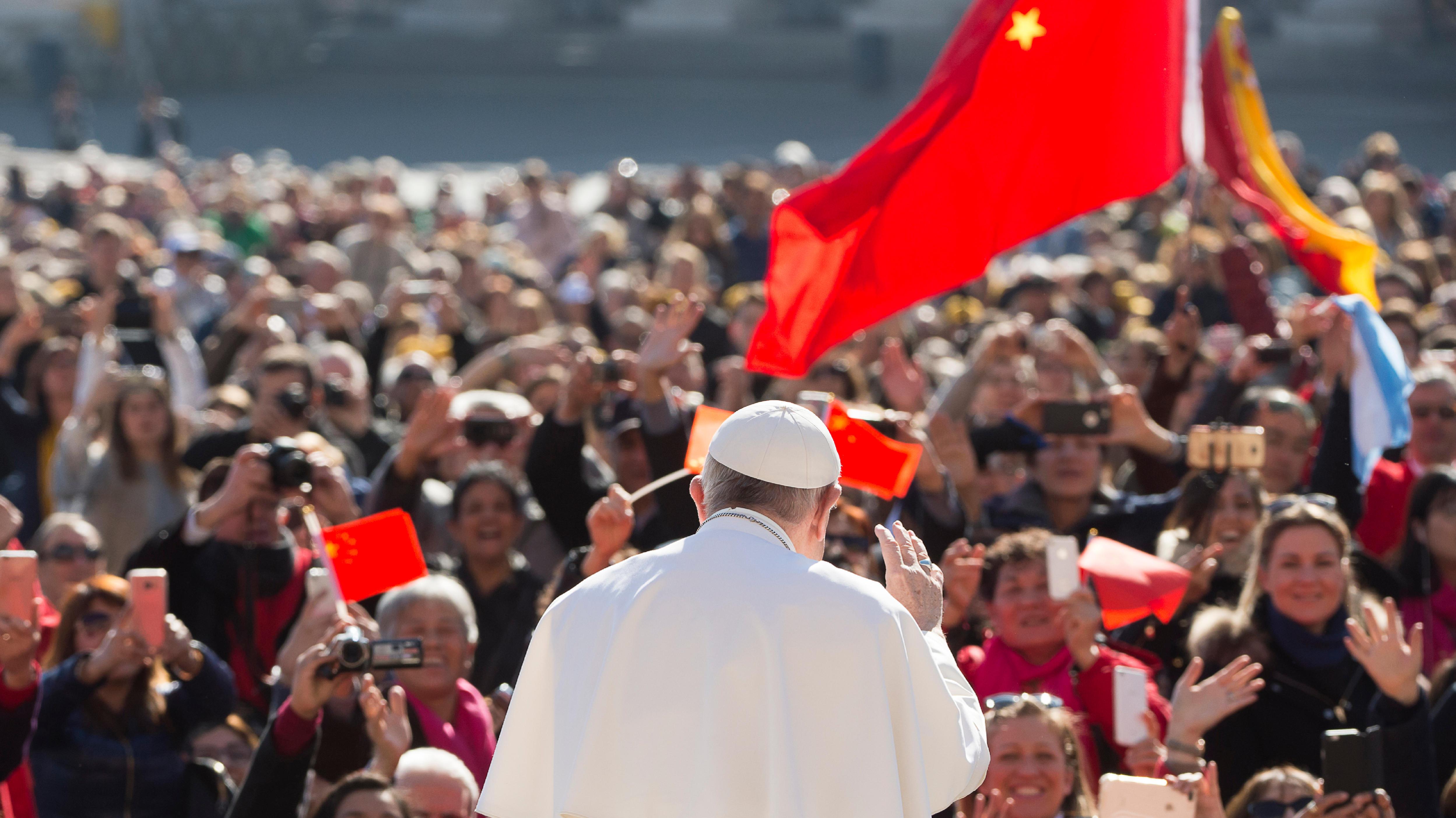 El Papa se encuentra con los peregrinos de China © L'Osservatore Romano