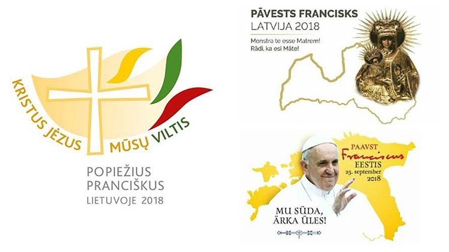 Logo del viaje apostólico de Francisco a los países bálticos © Vatican News