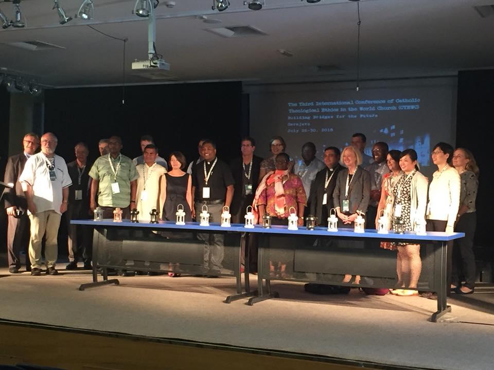 Participantes en la III Conferencia Internacional de Teólogos © www.catholicethics.com