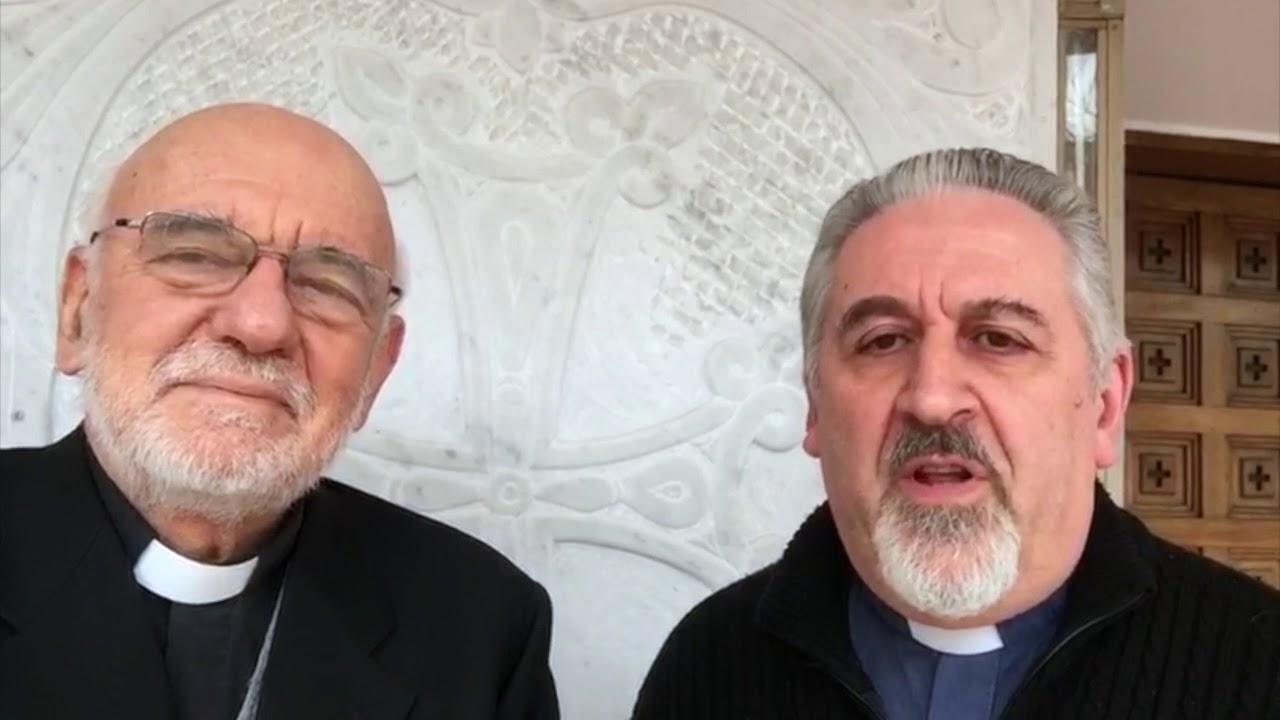Rev.do Pablo Hakimian (derecha). Youtube