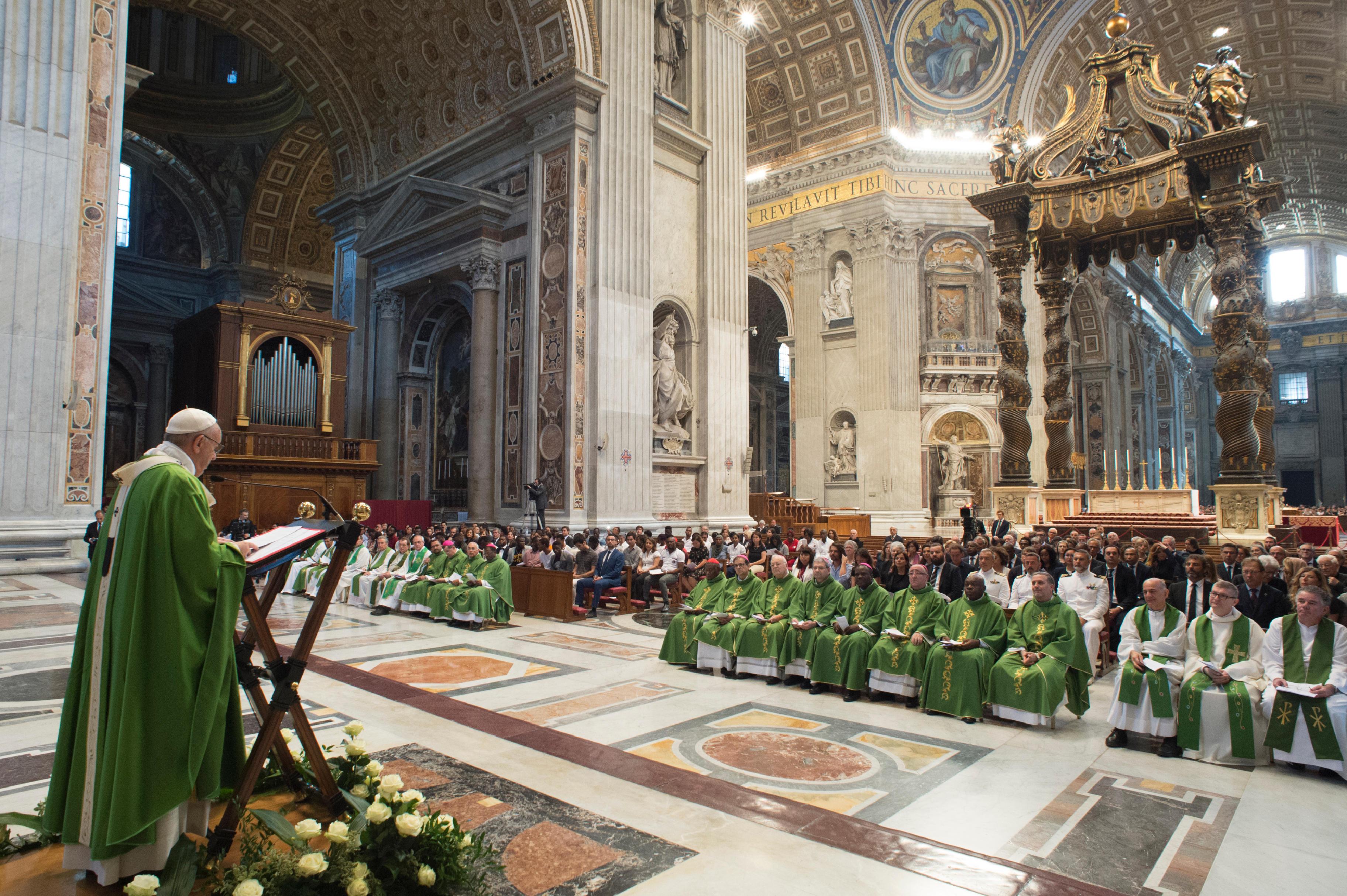 Homilía del Papa Francisco en la Misa con migrantes © Vatican Media