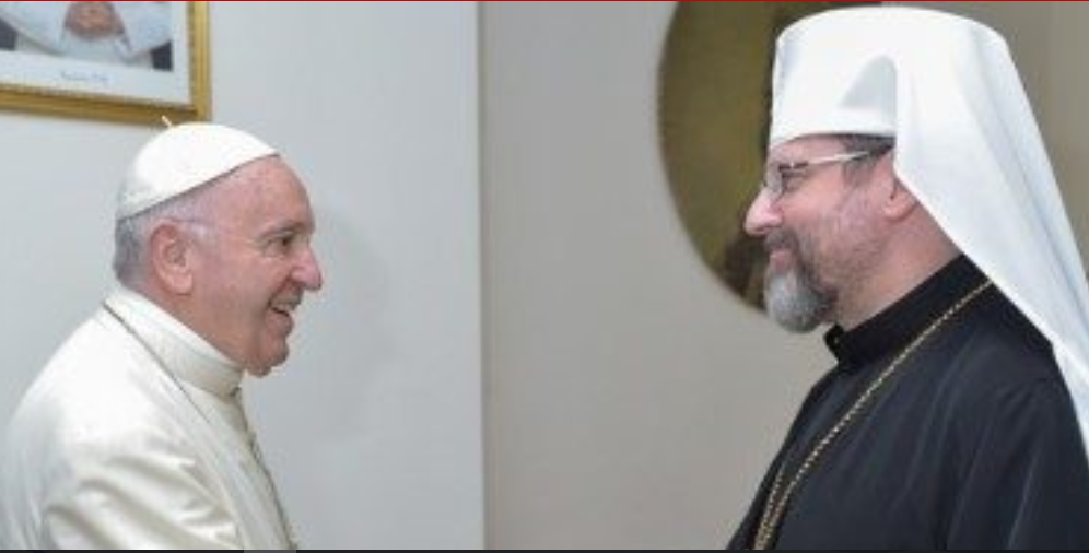 Mons. Sviatoslav Shevchuk, Ucrania © Vatican News