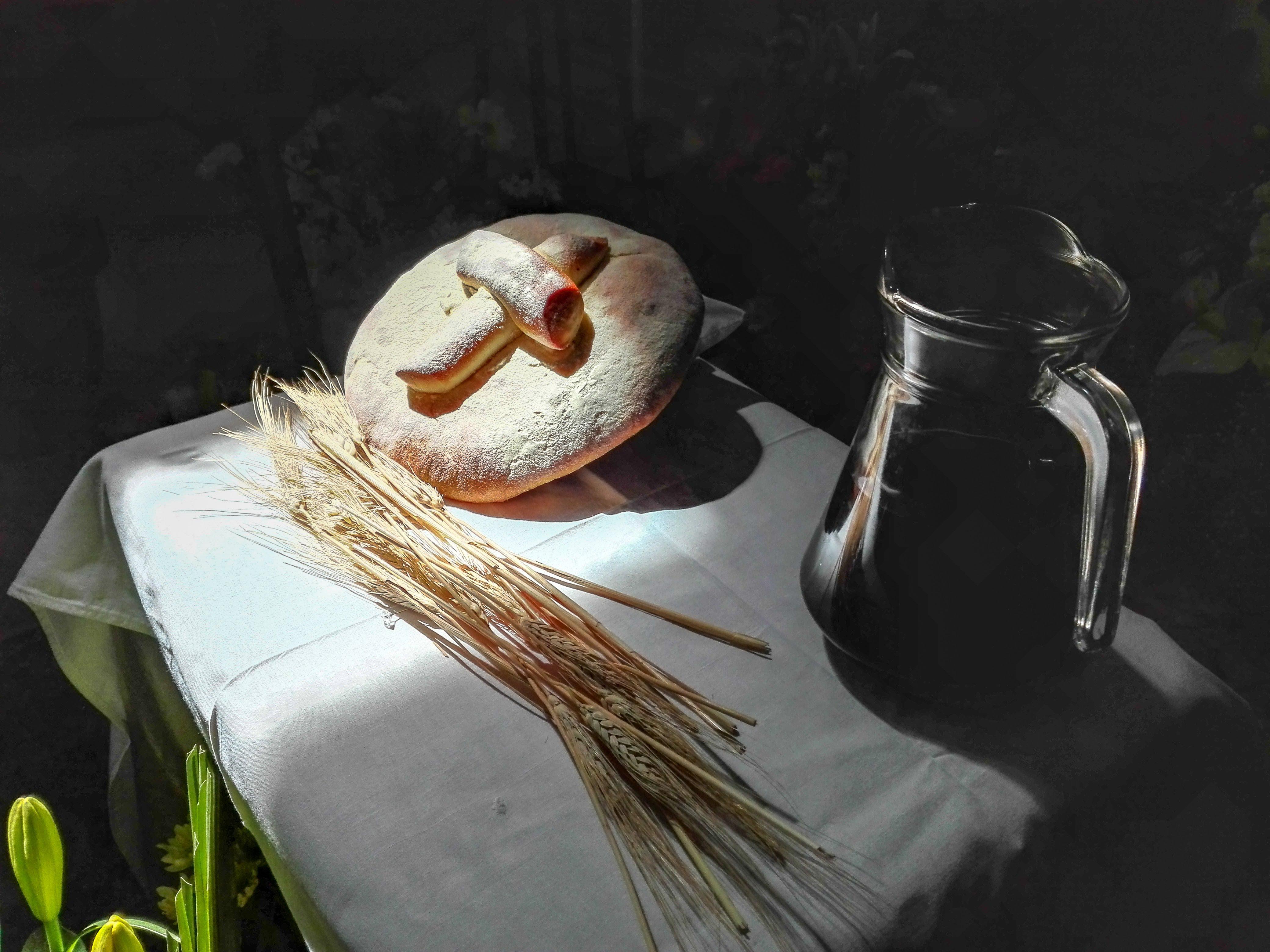 El pan y el vino © Cathopic