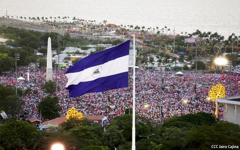 Manifestación en Nicaragua © Twitter