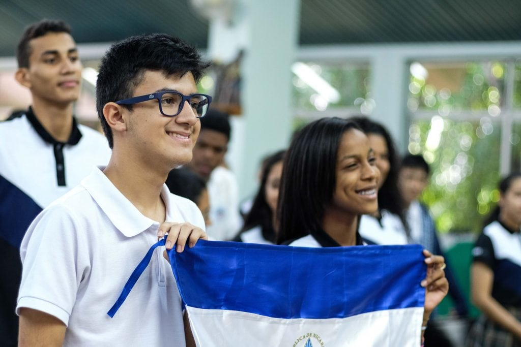 Jóvenes de Nicaragua © Jornada Mundial de la Juventud 2019