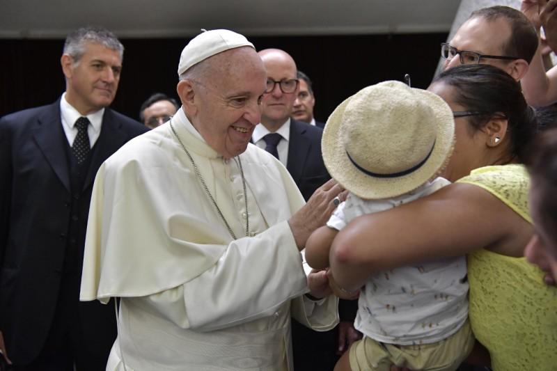 El Papa en la audiencia general, 1 agosto 2018 © Vatican Media