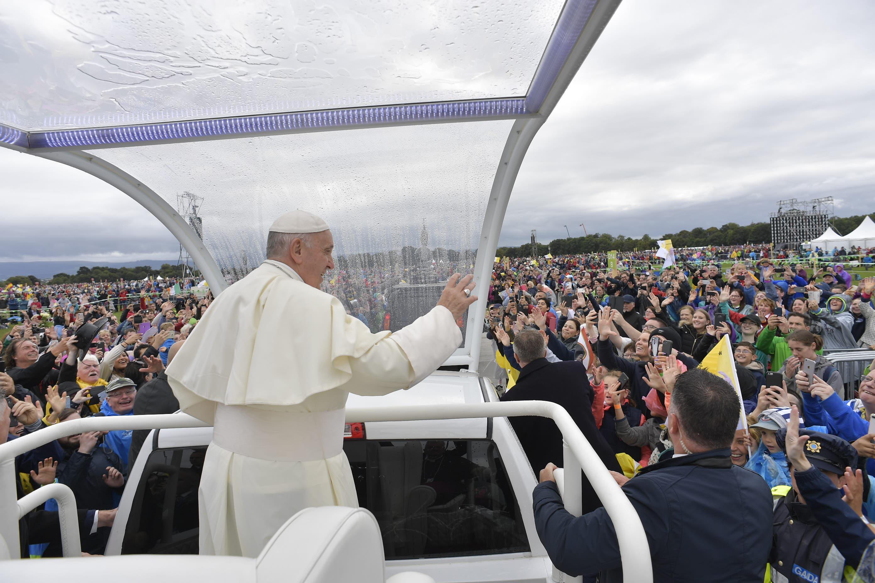 Eucaristía con las familias en Irlanda, 26 agosto 2018 © Vatican Media
