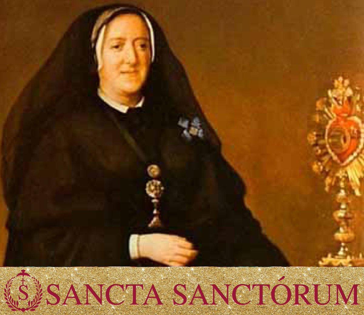 Santa María Micaela del Santísimo Sacramento © Twitter @SSanctorum