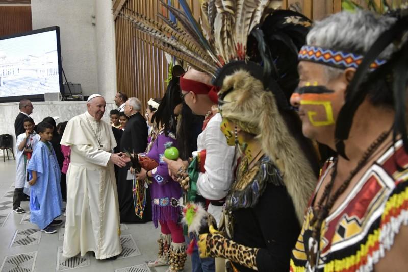 Audiencia general del Papa Francisco, 8 de agosto de 2018 © Vatican Media