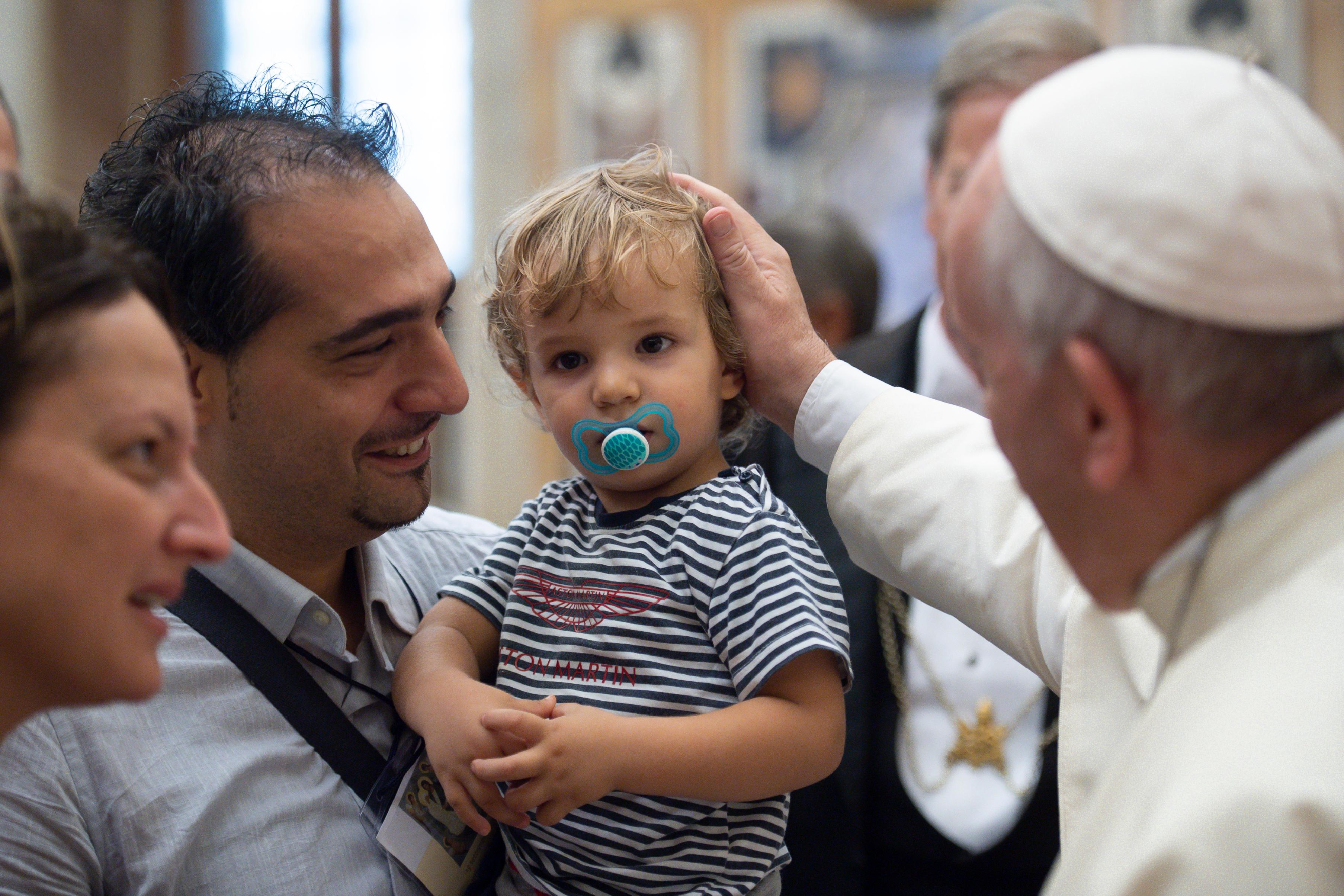 """Participantes en el Congreso """"La teología de la ternura del Papa Francisco"""" © Vatican Media"""