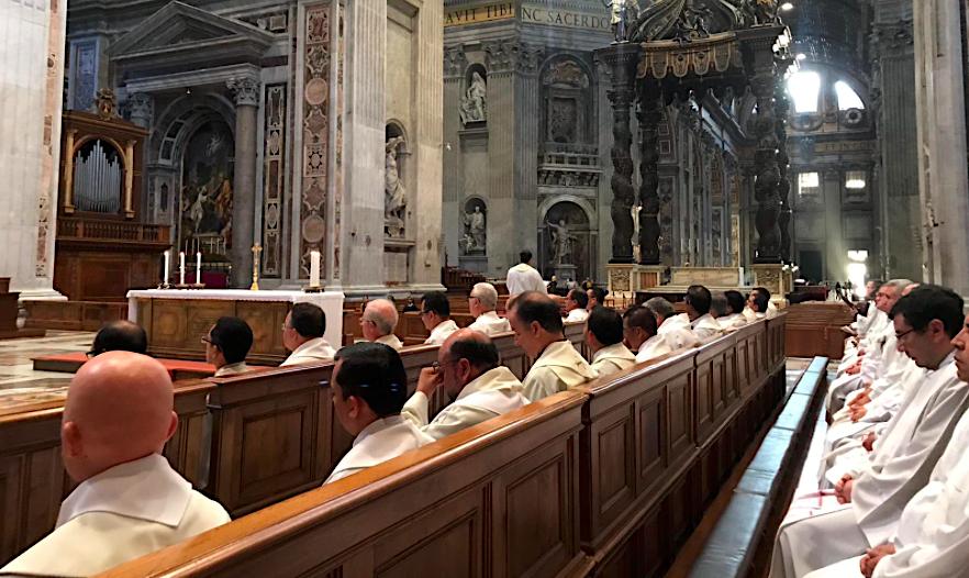Encuentro de rectores y formadores en Roma © Twitter