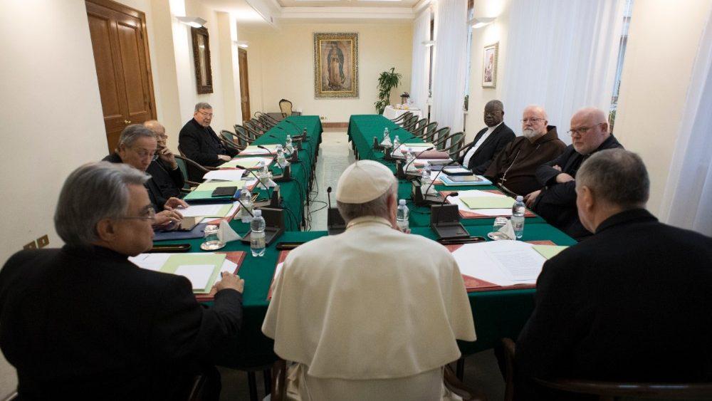 Consejo de Cardenales (C9). Fotografía de archivo