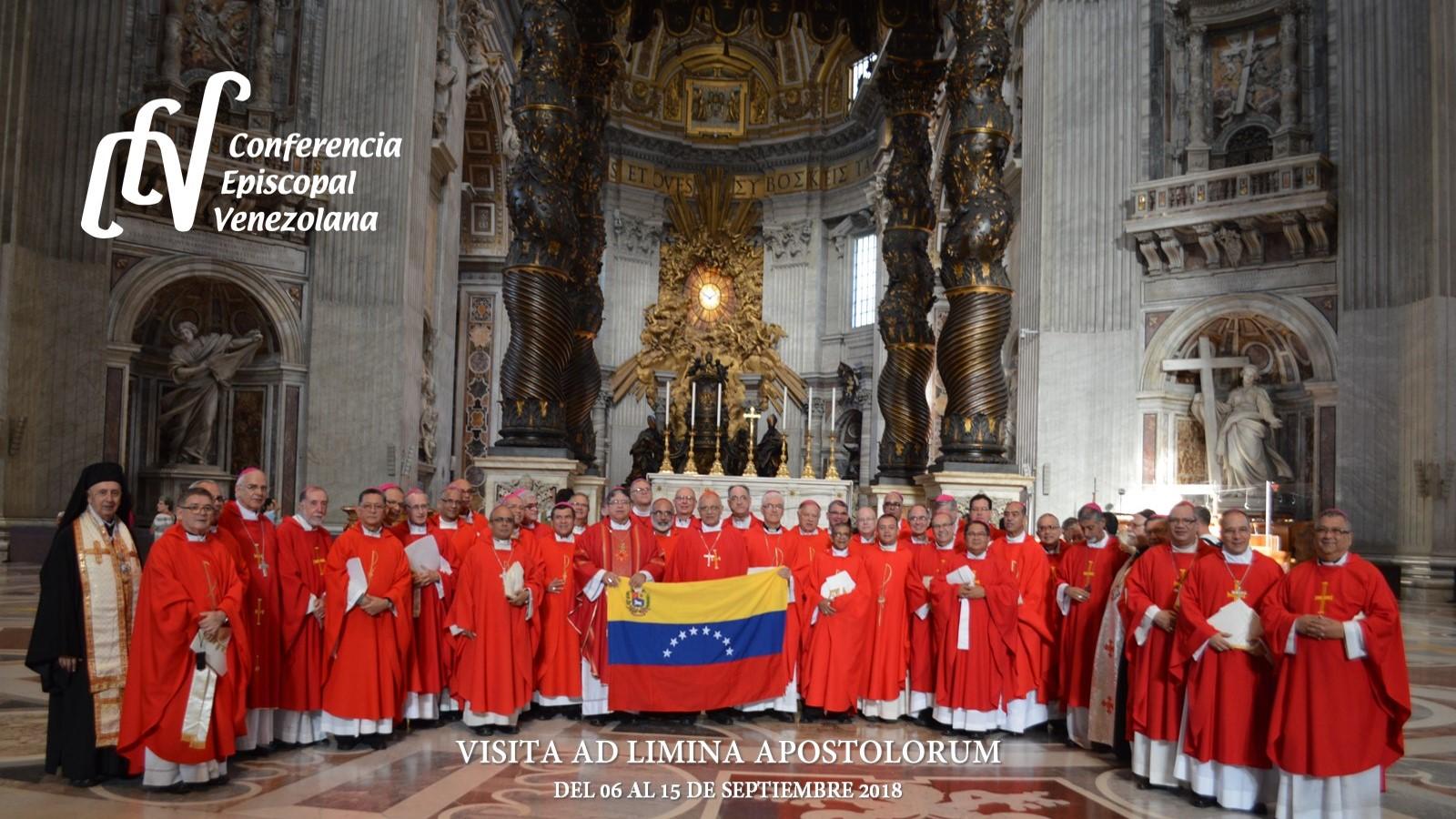 Visita Ad Limina Apostolorum de los Obispos de Venezuela © Conferencia Episcopal Venezolana