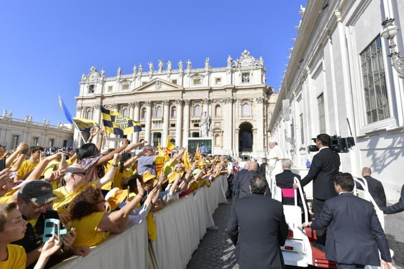 Audiencia general 5 sept. 2018 © Vatican Media