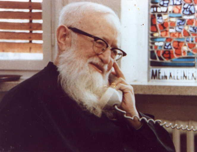 Padre Kentenich, fundador de Schoenstatt © Enrique Soros