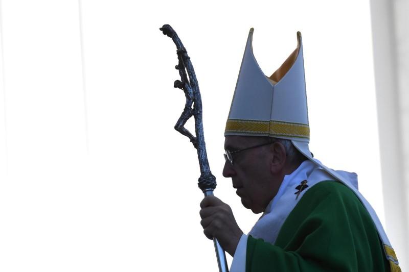 Papa Francisco en Kaunas, Lituania, 23 sept. 2018© Vatican Media