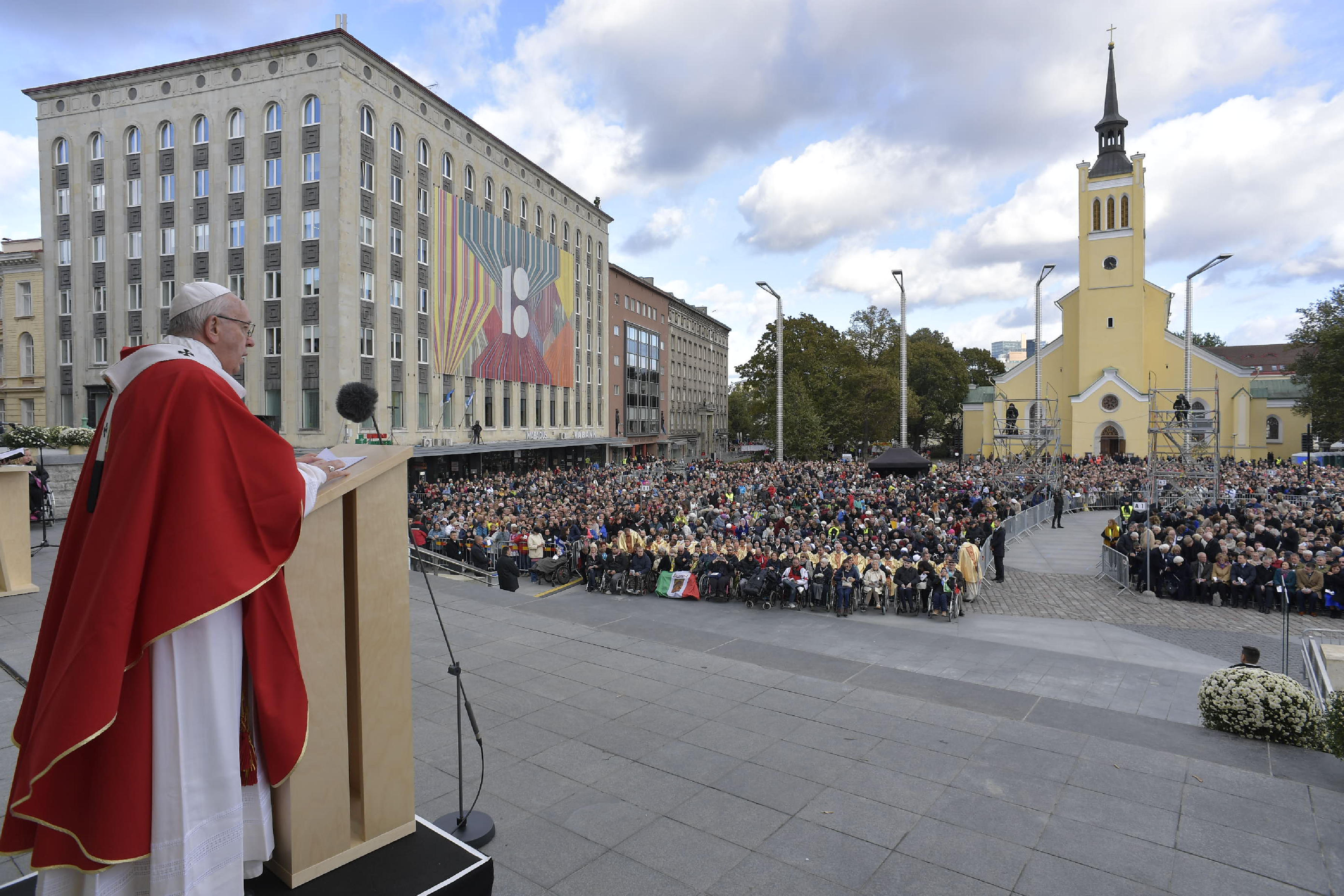 Misa del Papa en Tallin, Estonia © Vatican Media