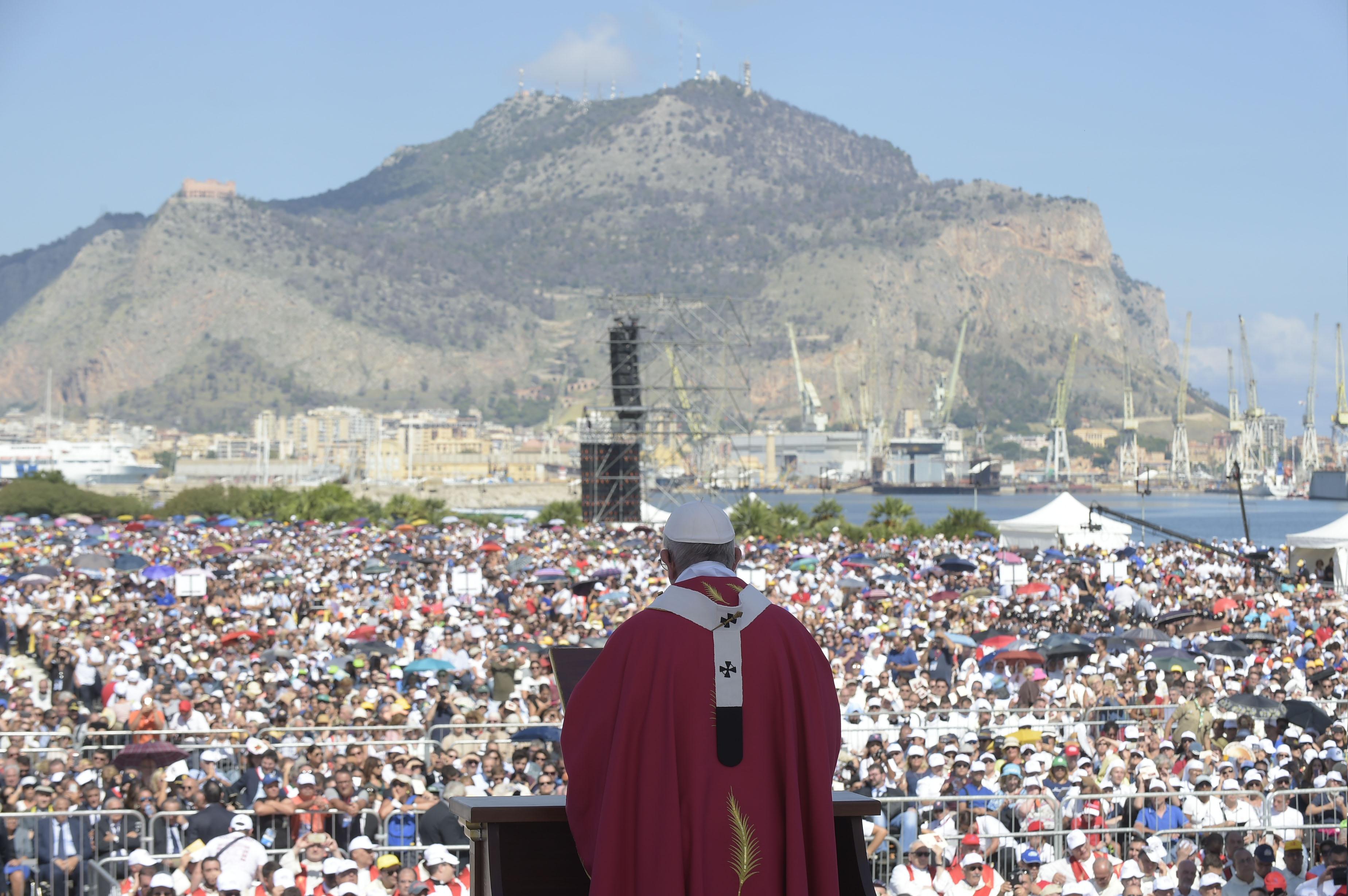 Visita del Papa Francisco a Palermo, capital de Sicilia © Vatican Media