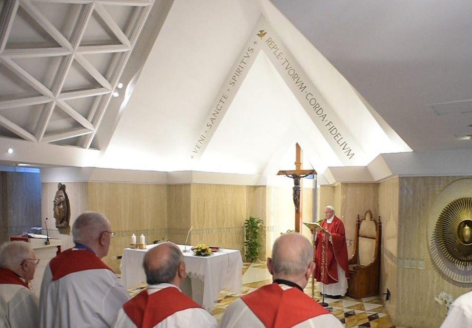 Santa Marta 1 junio 2018 © Vatican New