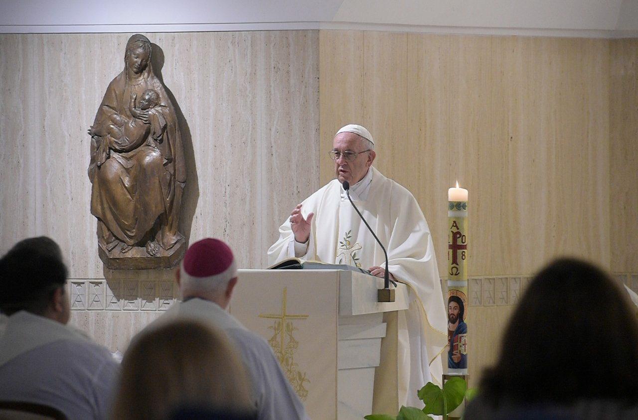 Homilía del Papa Francisco en Santa Marta © Vatican Media