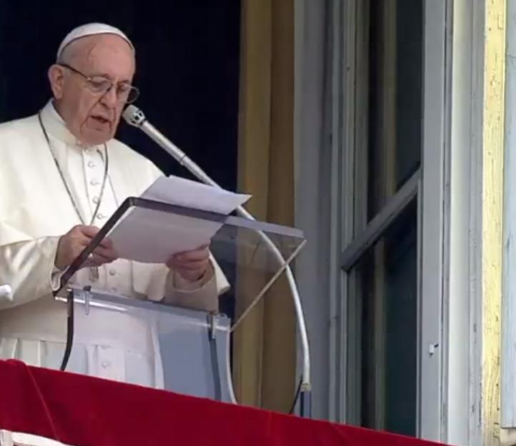 Ángelus 7 octubre 2018 © Vatican News