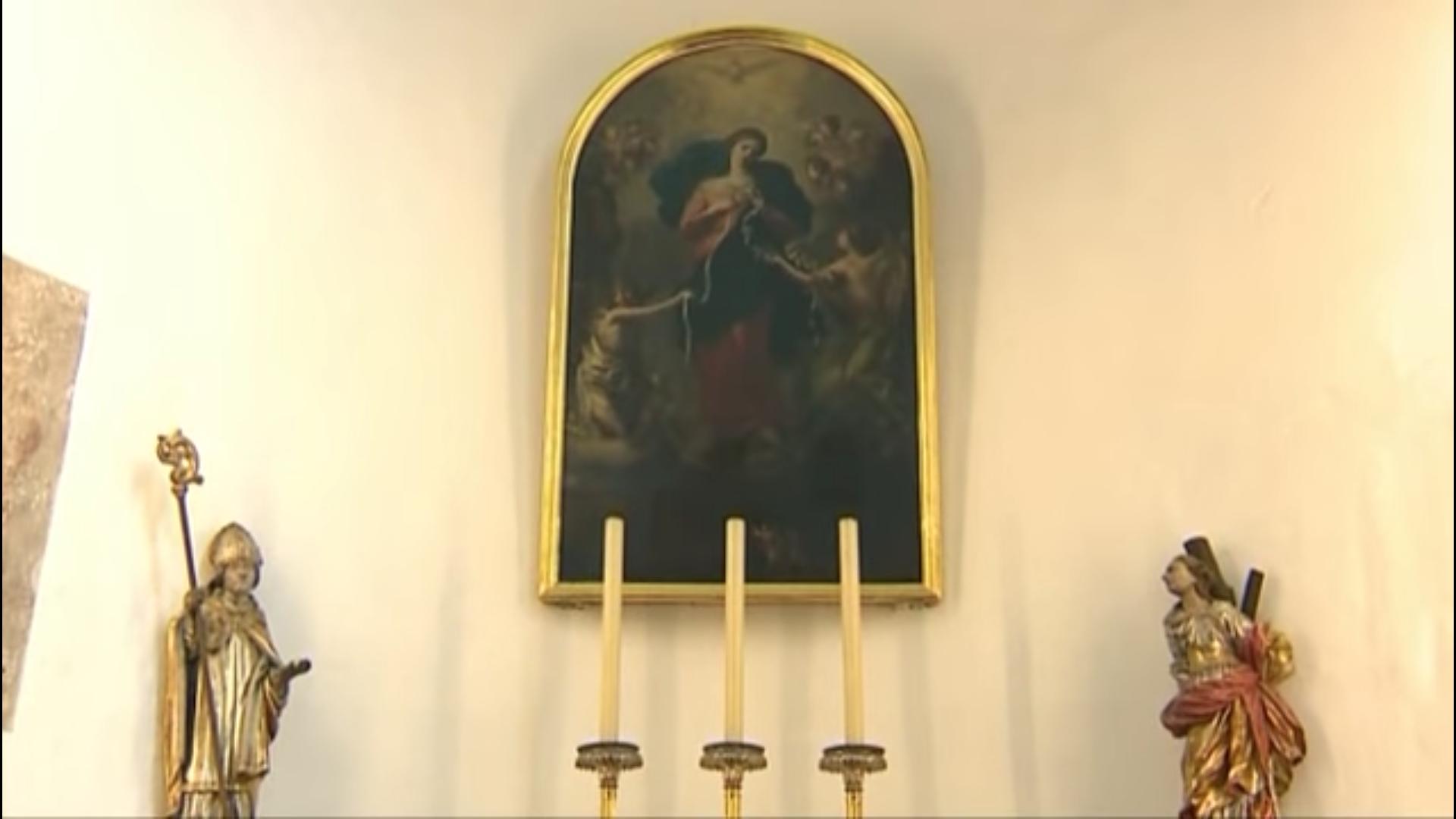 "Marie ""Knotenlöserin"", Iglesia Sankt-Peter (Augsburg, Alemania)"