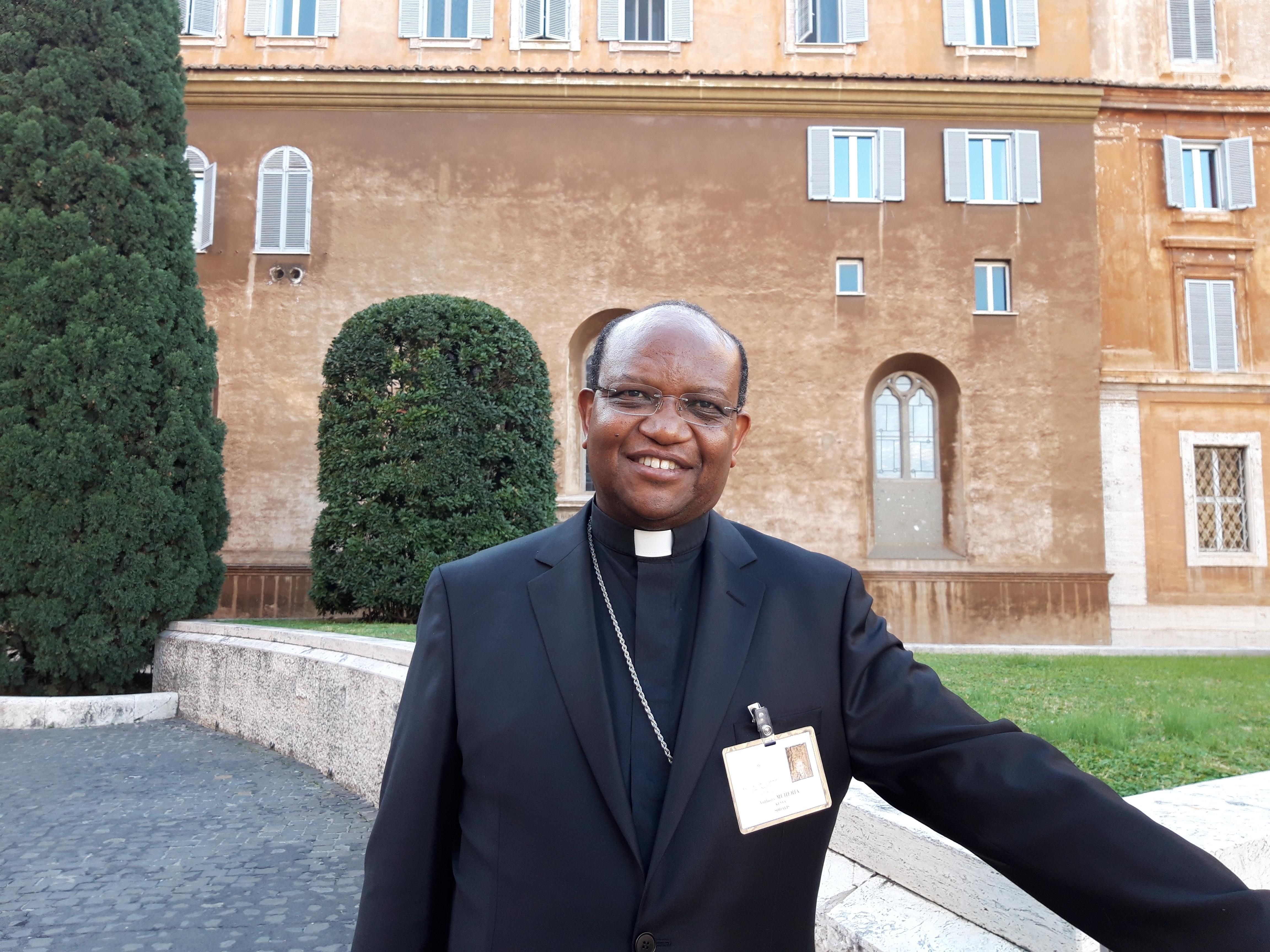 Mons. Anthony Muheria, Arzobispo de Nyeri (Kenya) © Zenit