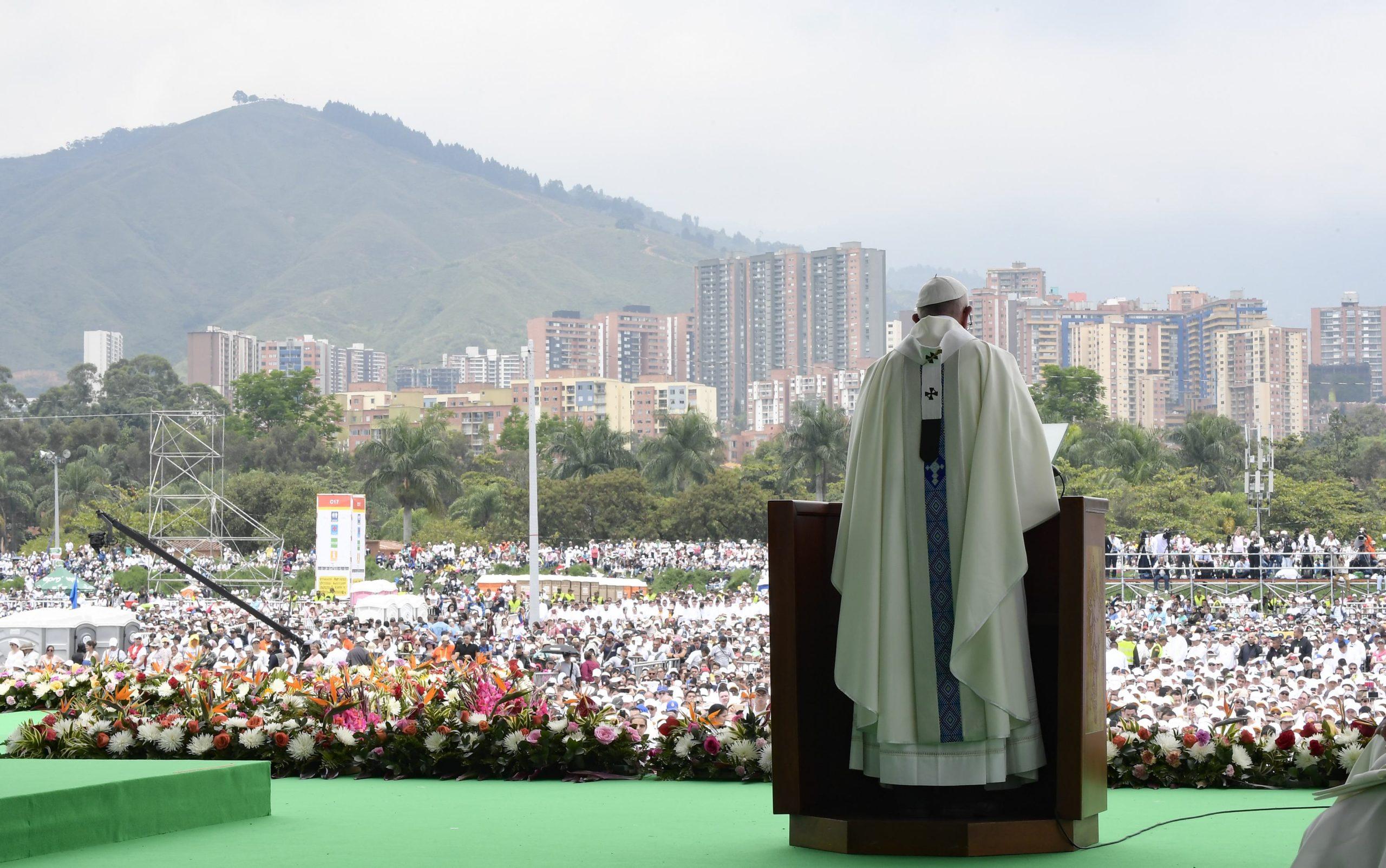 Misa En Medellín, Colombia © L'Osservatore Romano