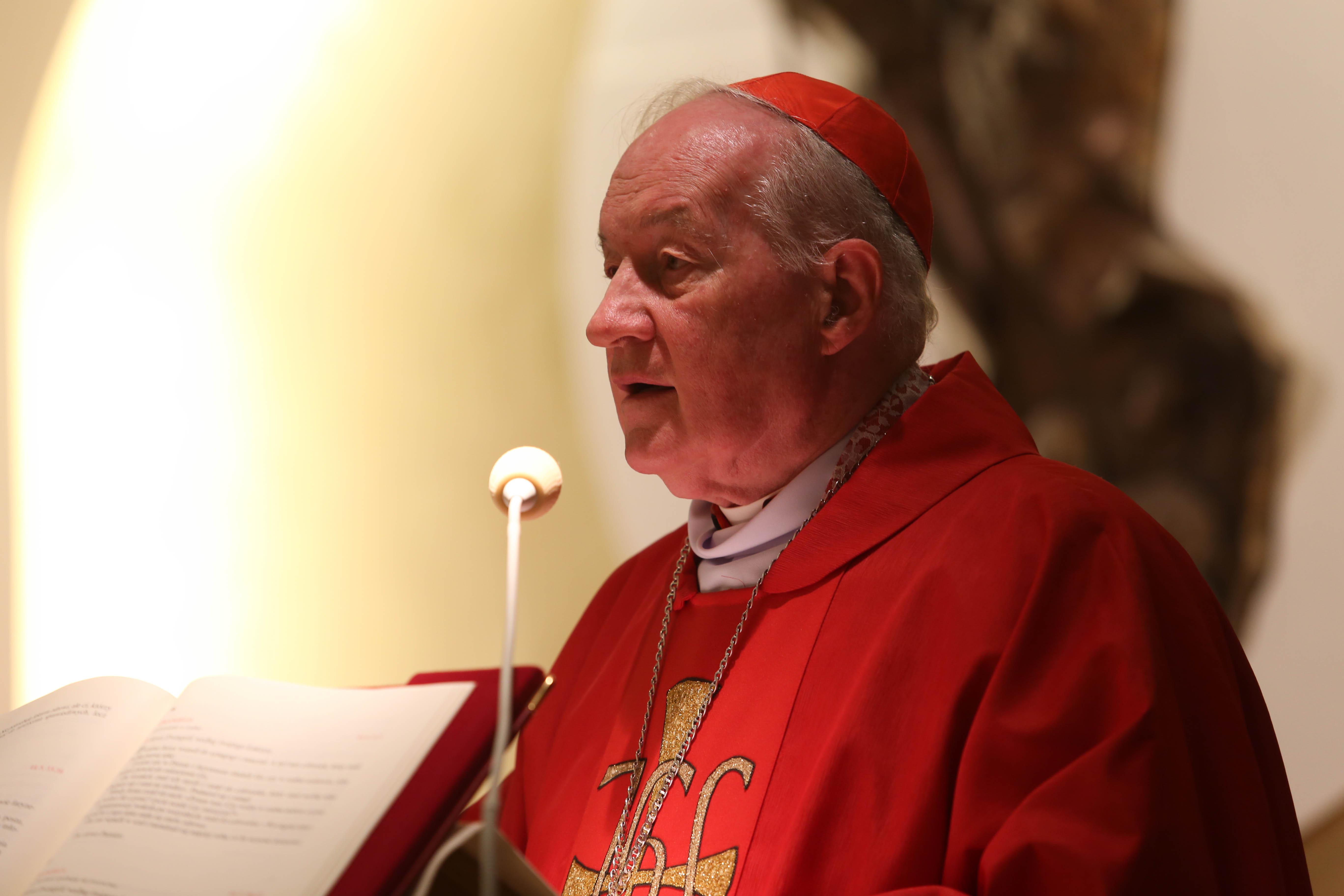 Cardenal Marc Ouellet. Fotografía de archivo
