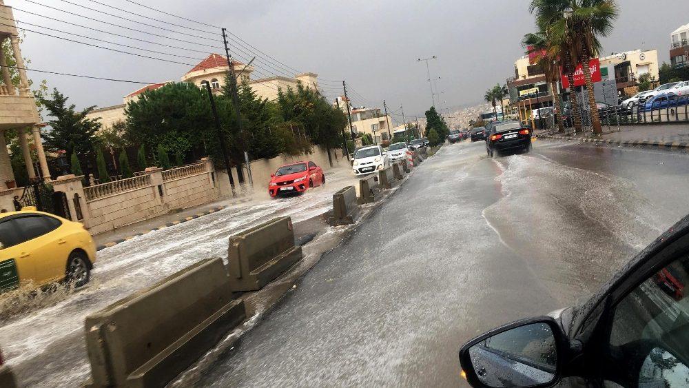 Inundaciones en Jordania © Vatican Media