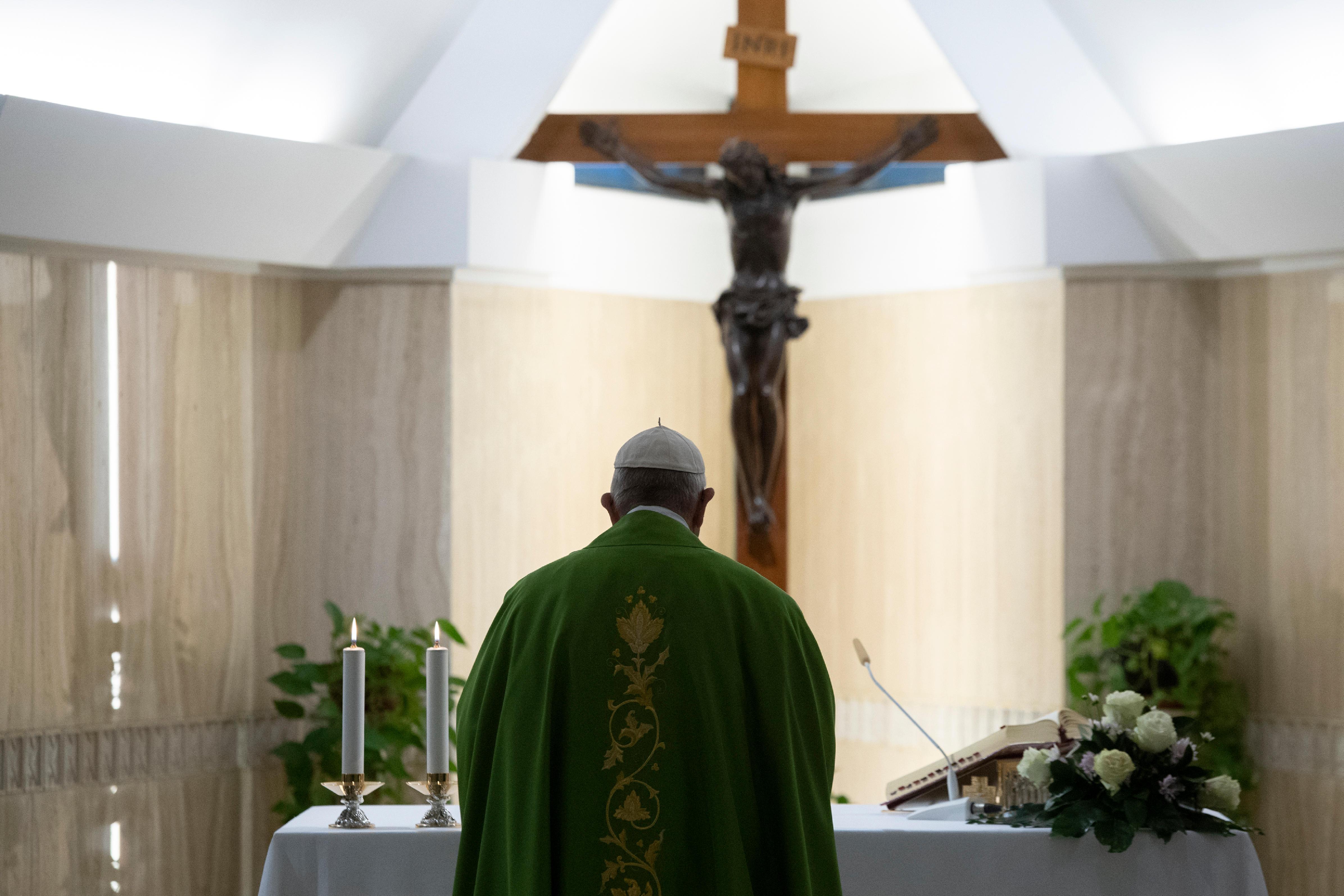 Misa Del 25 De Octubre De 2018 En Santa Marta © Vatican Media