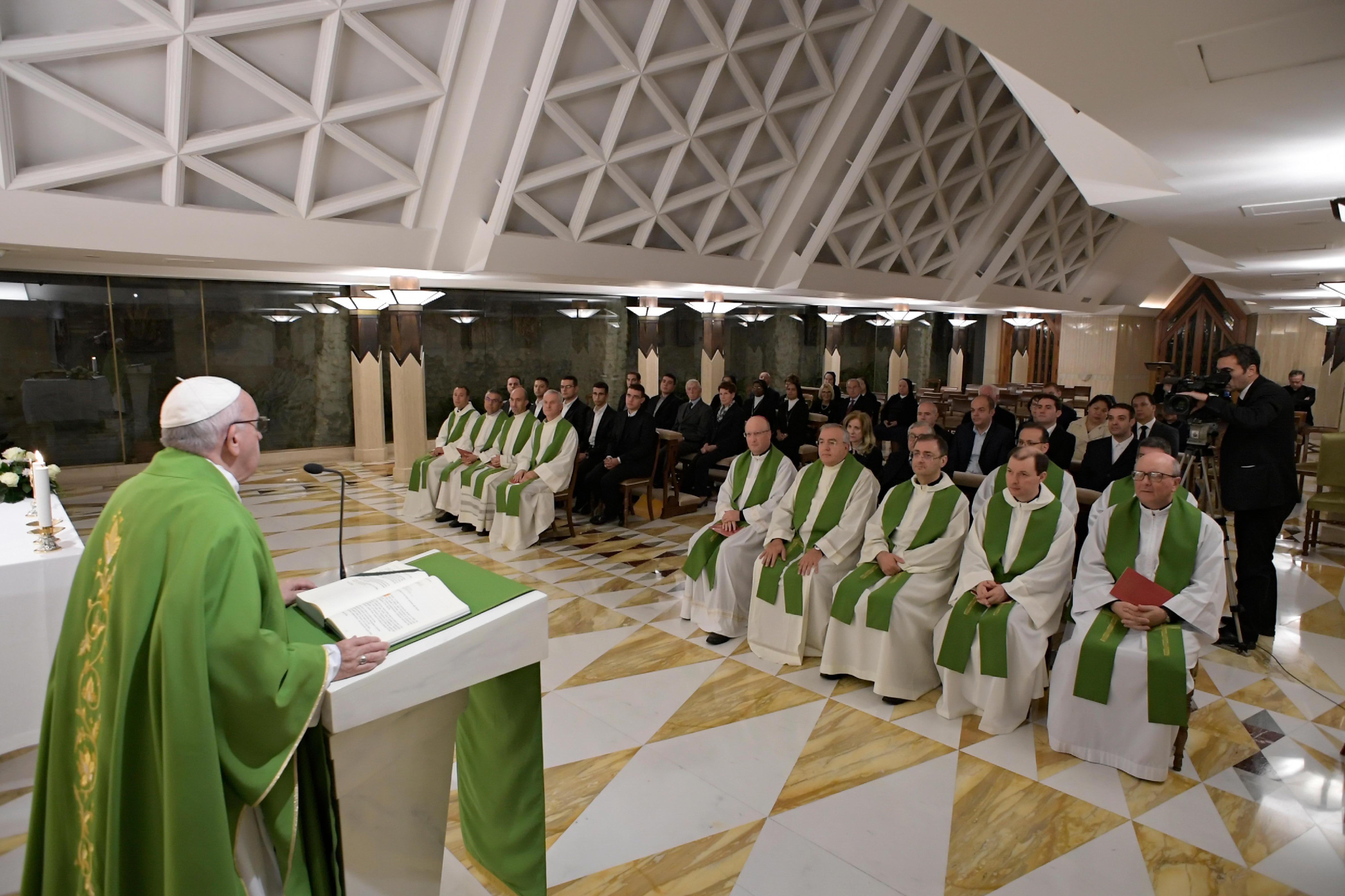 Misa Del 26 De Octubre De 2018 En Santa Marta © Vatican Media