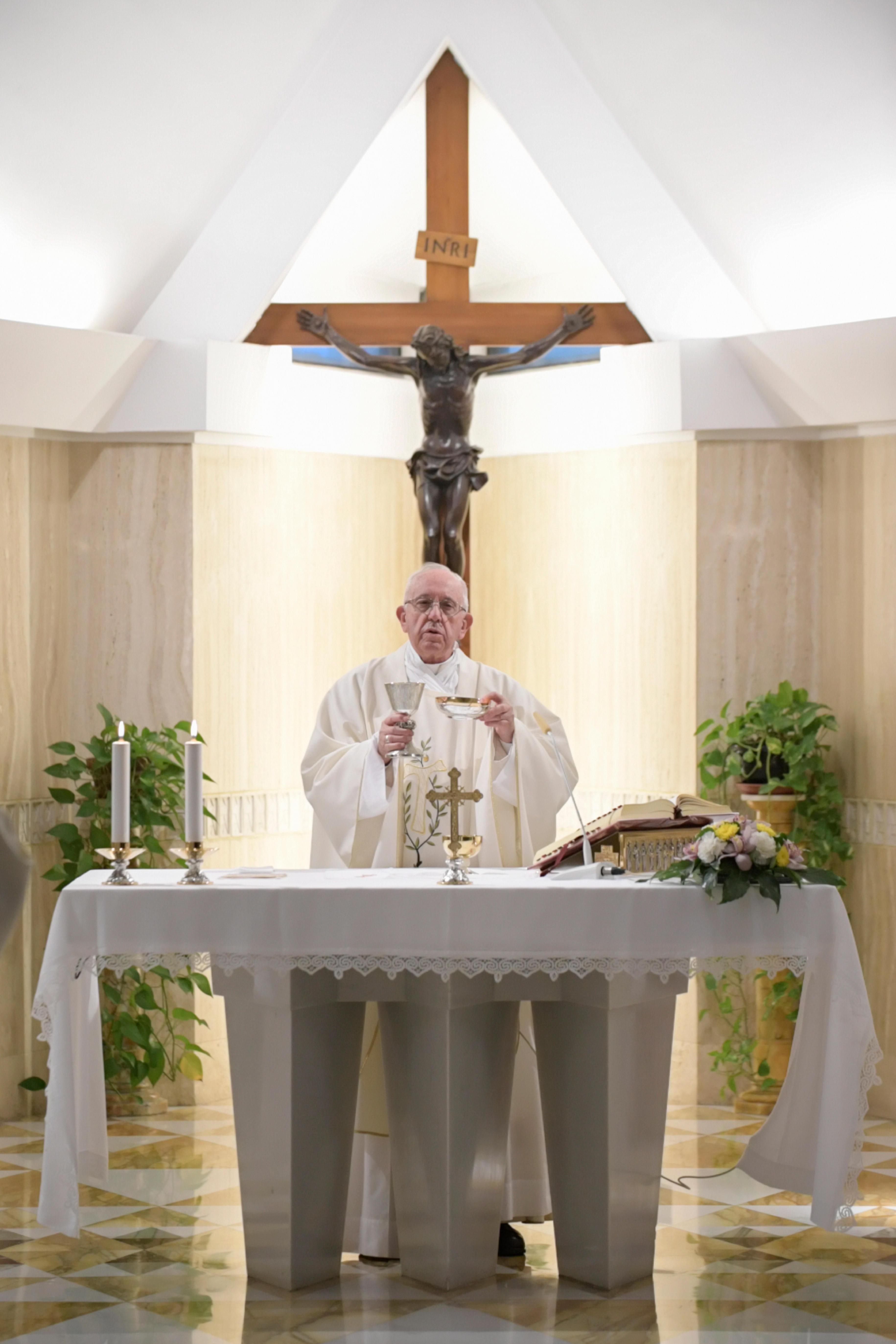 Misa en Santa Marta © Vatican Media