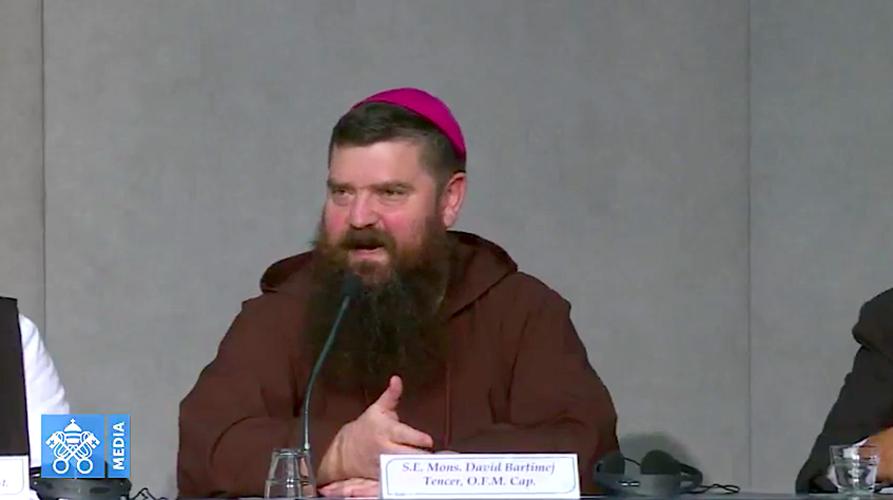 Obispo de Reikiavik, Islandia. Captura Vatican Media