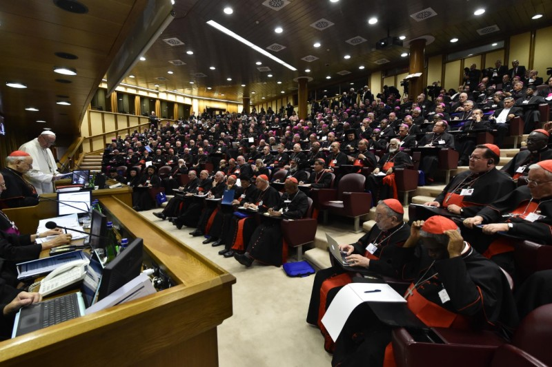 Sínodo de los Obispos sobre los jóvenes, octubre 2018 © Vatican Media