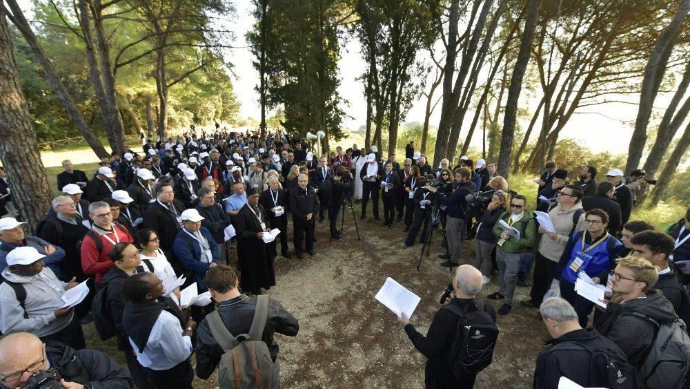Peregrinación del Sínodo 2018 © Vatican Media