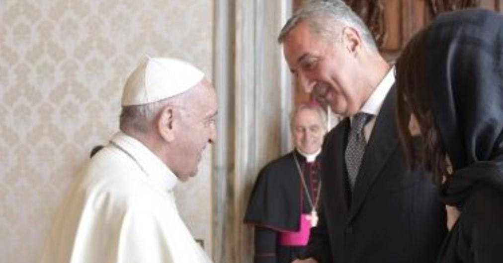 Presidente De Montenegro Milo Djukanovic © Vatican Media
