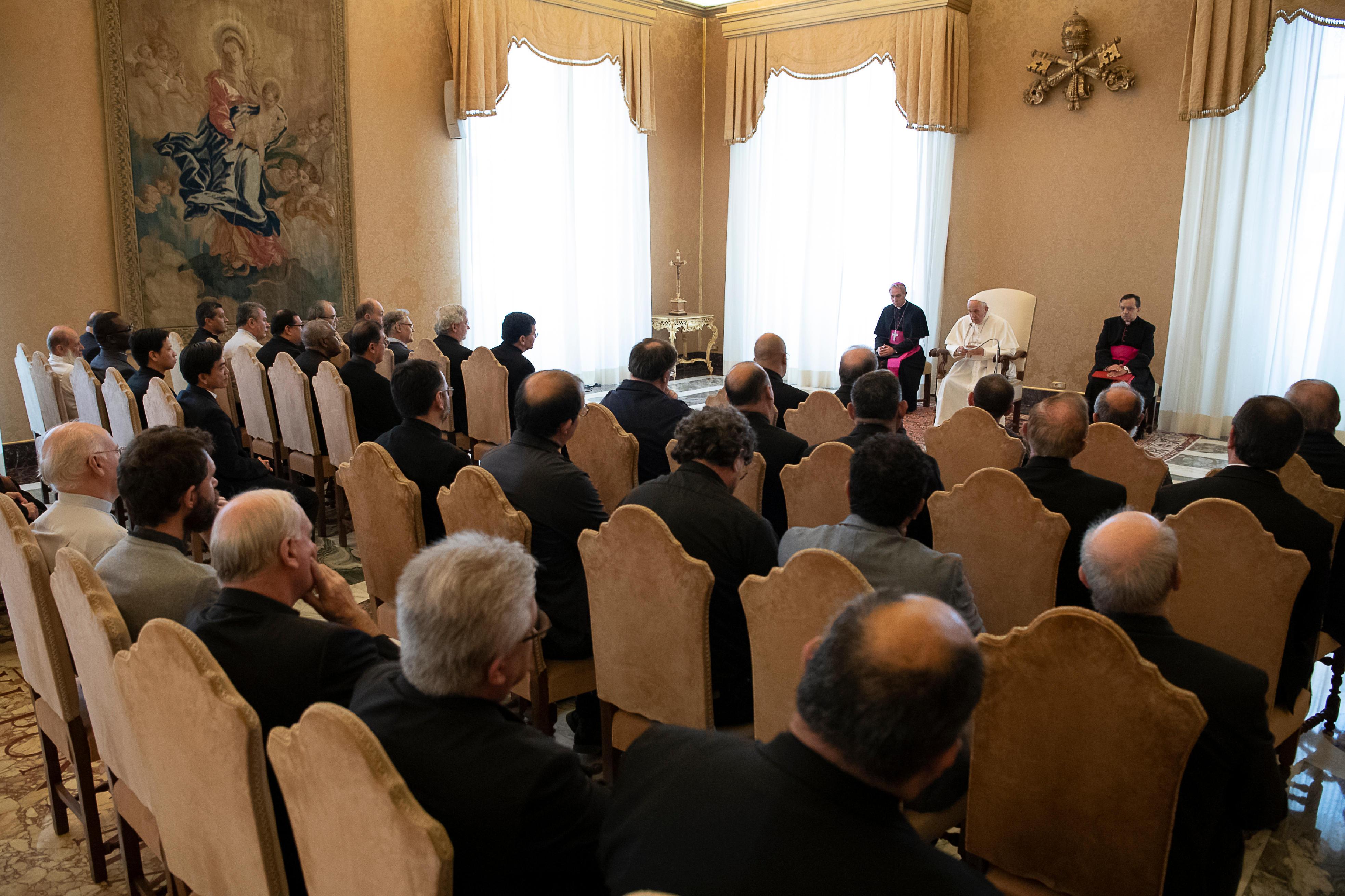 Religiosos Escalabrinianos © Vatican Media