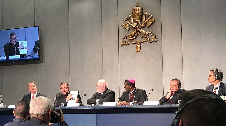 Briefing sobre el Sínodo, 24 de octubre de 2018 © Vatican Media